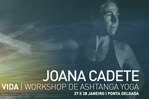 2018 Workshop Joana Cadete at Azores YOGA - Ponta Delgada